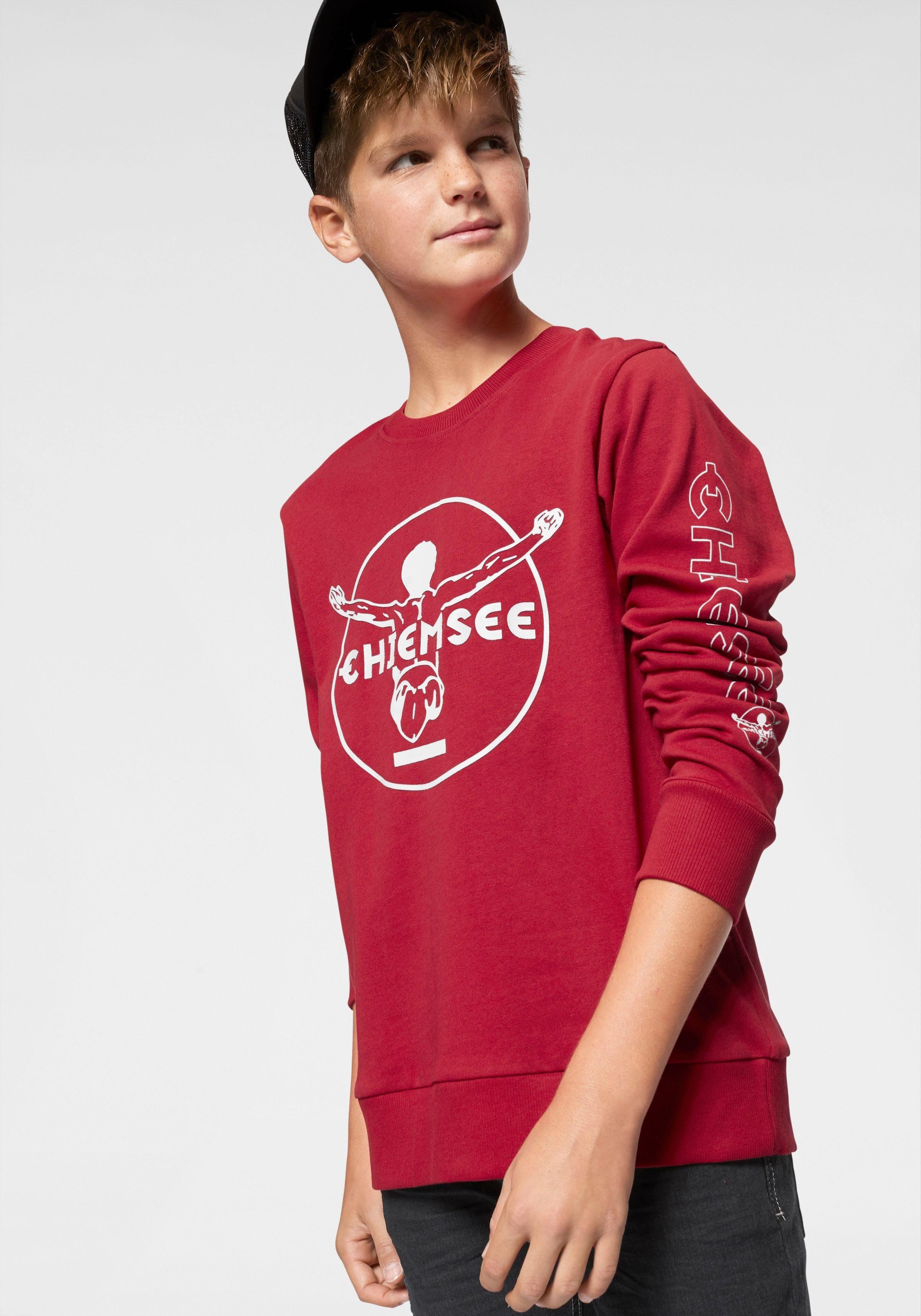 Chiemsee Sweatshirt mit Drucken vorn und auf den Ärmeln online kaufen | OTTO