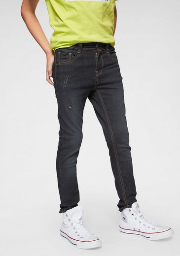 Arizona Stretch-Jeans, skinny fit in cooler Waschung
