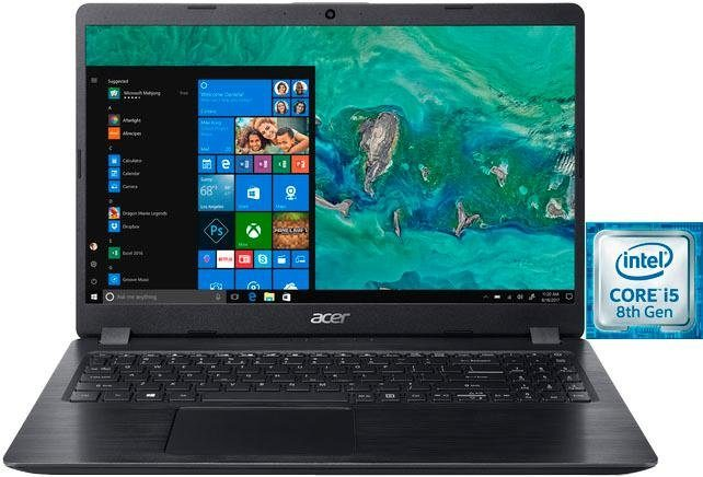 Acer Aspire 5 A515-52G-58S9 Notebook (39,62 cm/15,6 Zoll, Intel Core i5, GeForce, 1000 GB HDD, 128 GB SSD, inkl. Office 365 Personal (ESD)