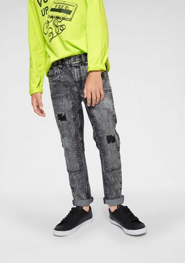 Arizona Stretch-Jeans regular fit mit schmalem Bein
