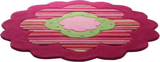 Kinderteppich »Flower Shape«, Esprit, rund, Höhe 10 mm, Motivform