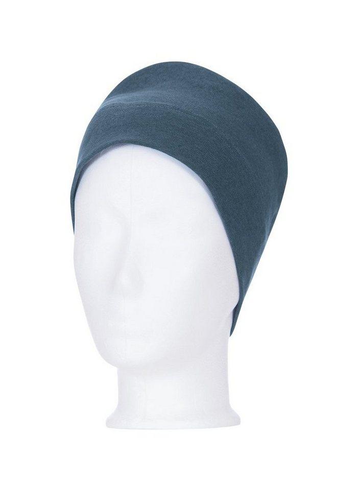 TRIGEMA Soft-Cap | Accessoires > Caps | Blau | Baumwolle - Elastan | Trigema
