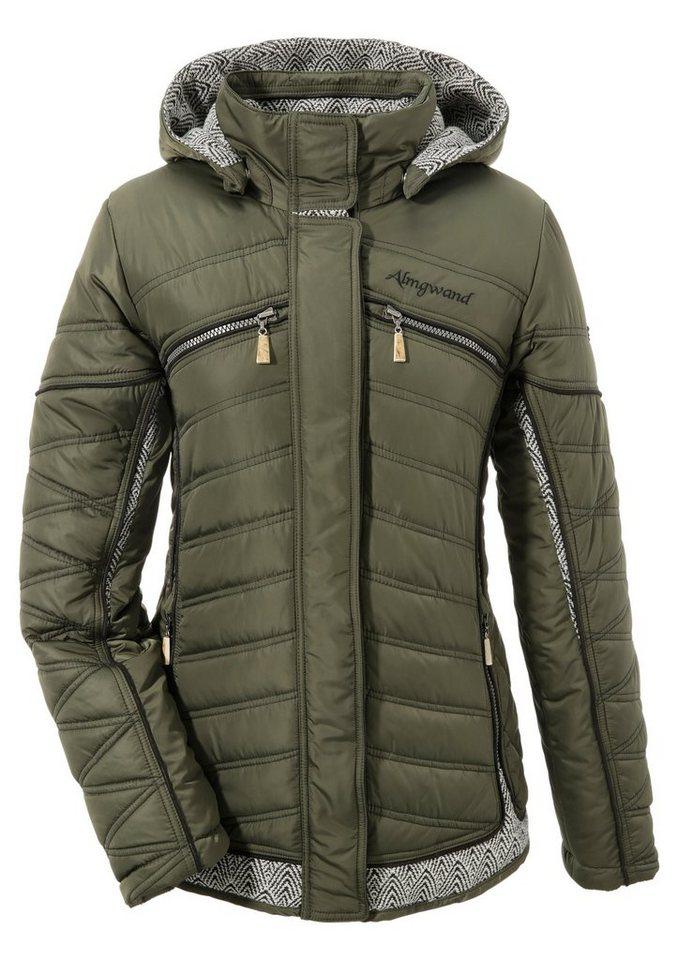 Almgwand Trachtenoutdoorjacke Damen in hochwertiger Qualität | Sportbekleidung > Sportjacken > Outdoorjacken | Grün | Almgwand