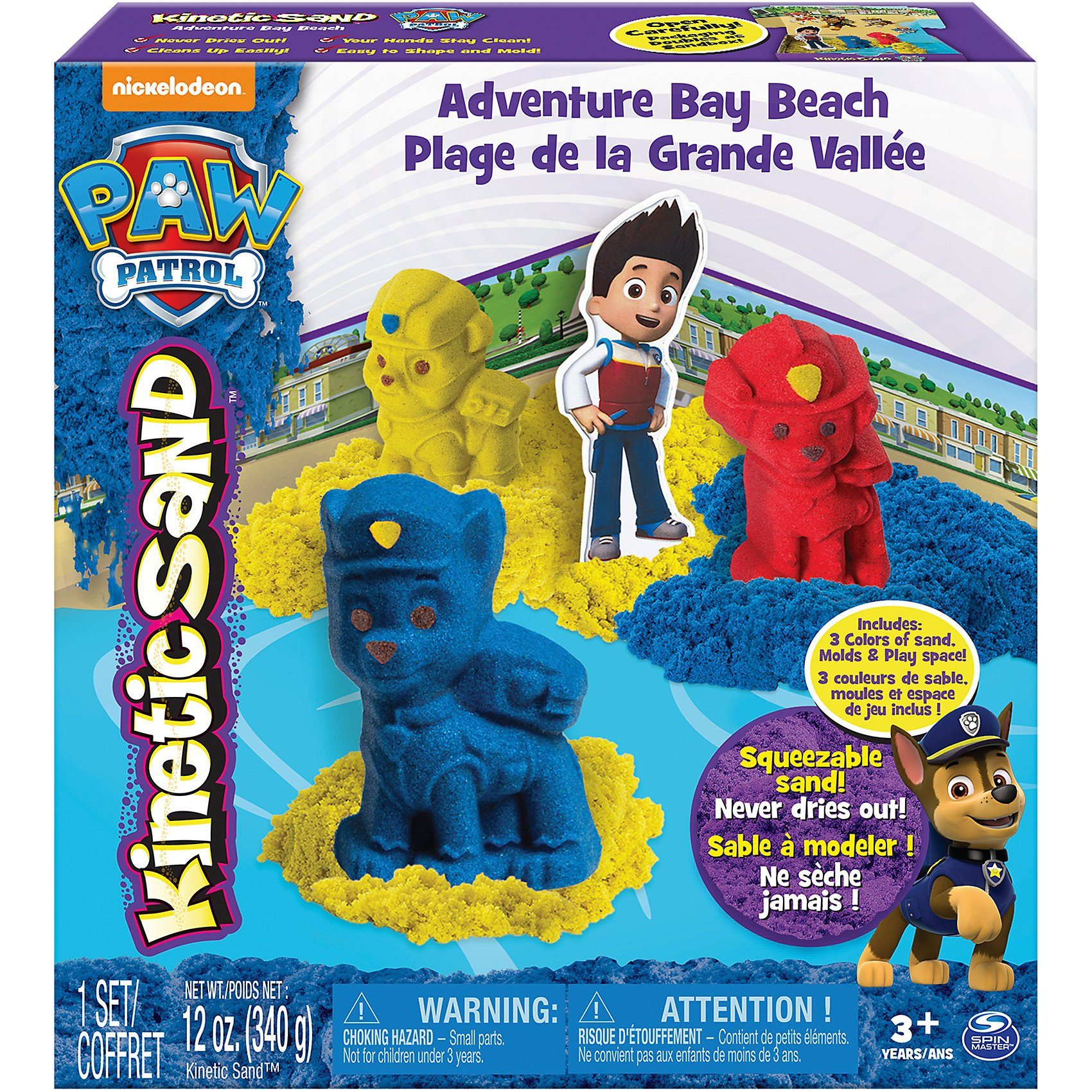 Spin Master PAW Patrol Kinetic Sand Character Playset