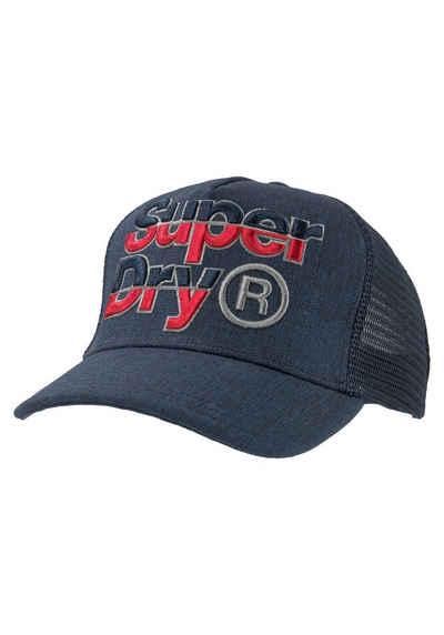 a74572e595a Superdry Baseball Cap mit großer Logostickerei