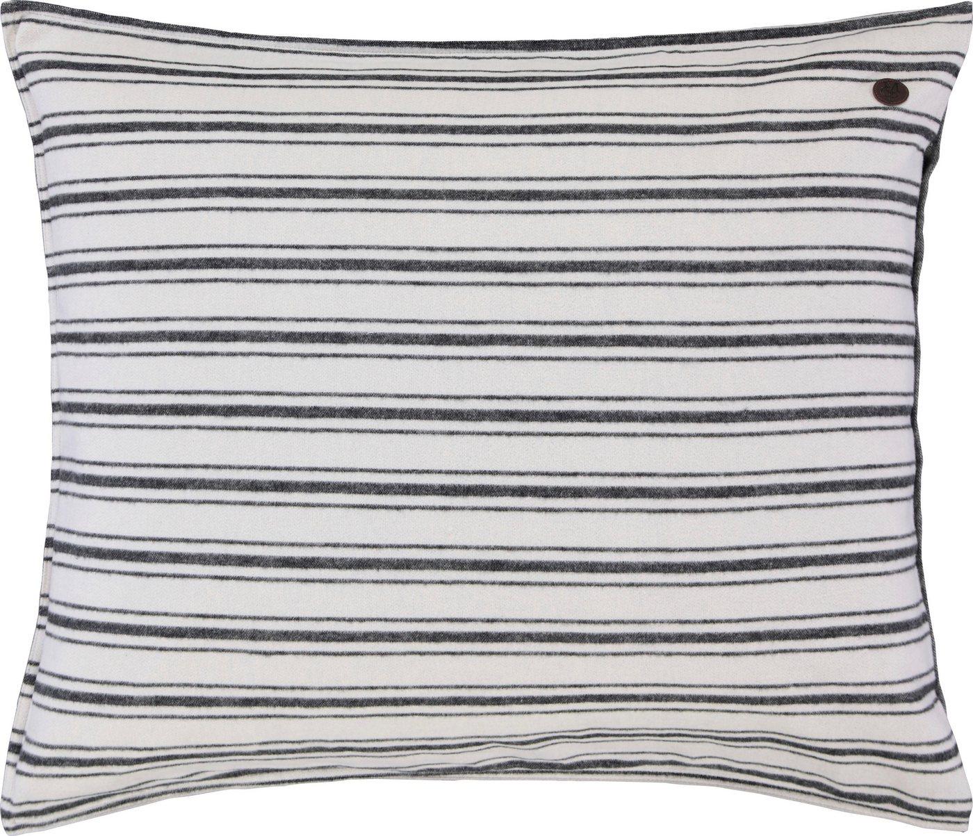 Marc O´Polo Home Kissenbezug Zayla  Marc O Polo Home in flauschiger Biber Qualität grau   08715944584708