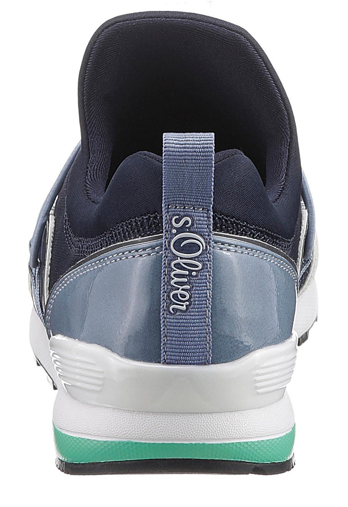 on Label Slip oliver Optik Red Sneaker S Sportiver In wq6Pf4W