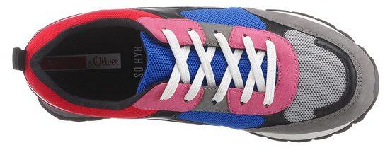 Trendigen Red Label Multi Sneaker oliver S Im design colour XP6wTqn