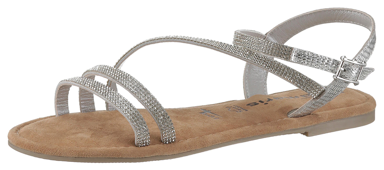 Tamaris Sandale mit Leder kombiniert online kaufen | BAUR