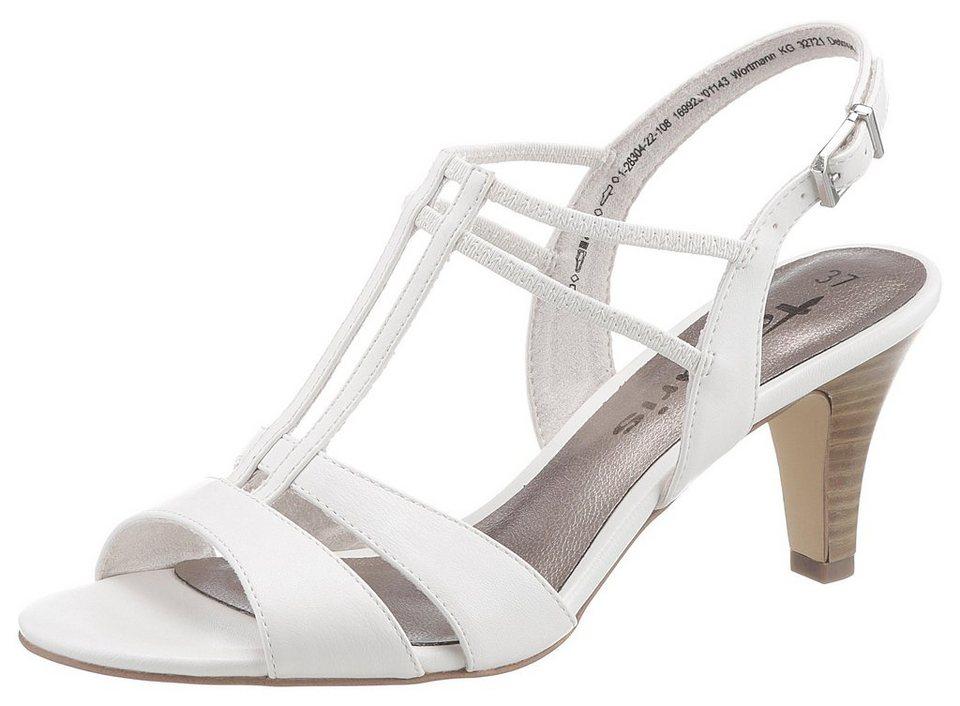 8c548f00deaf1 Tamaris Sandalette mit zarten Riemchen, Eleganter Sommerschuh in schlichter  Optik online kaufen | OTTO