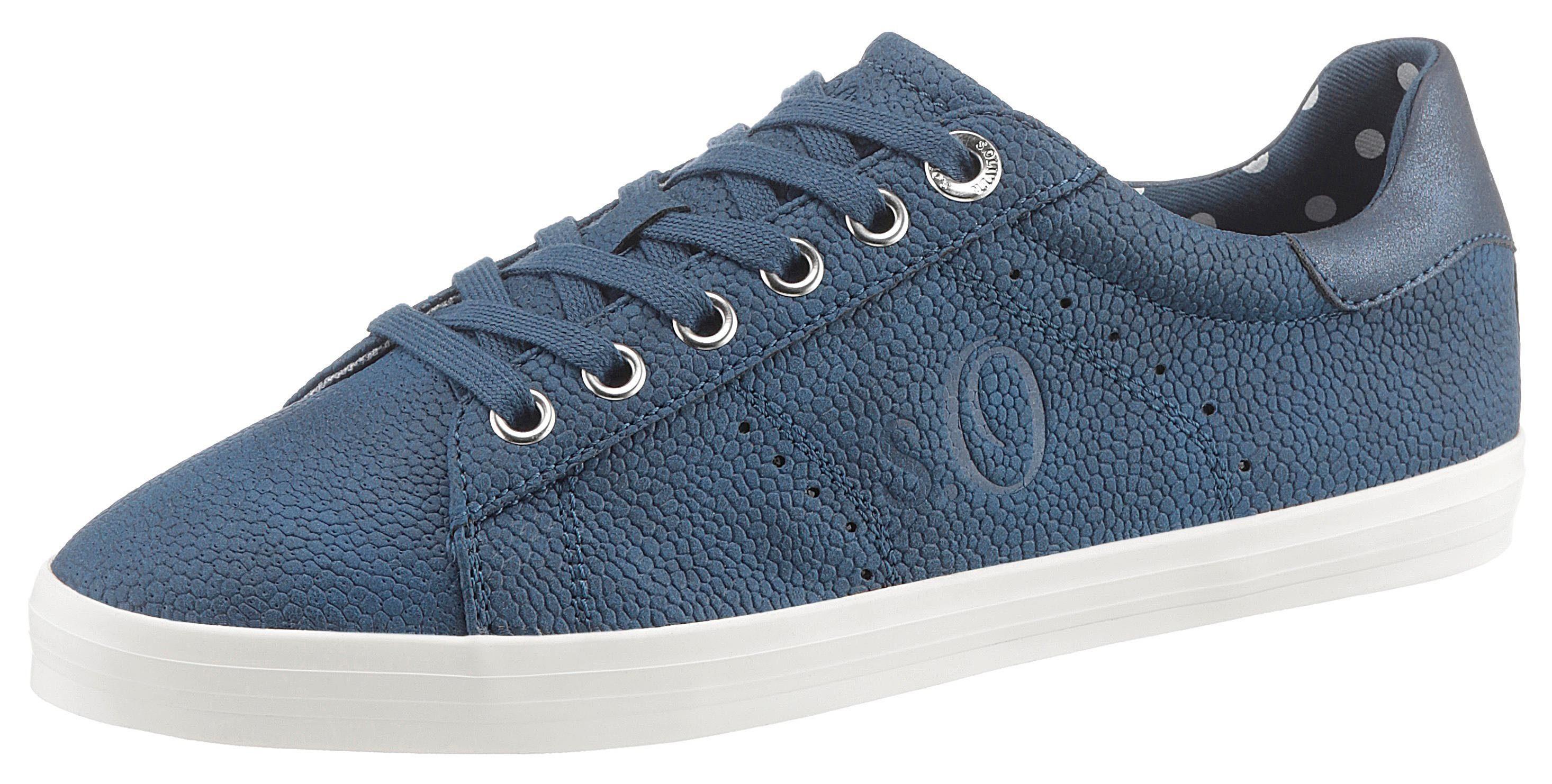 s.Oliver Sneaker in hochwertiger Nubukoptik kaufen | OTTO