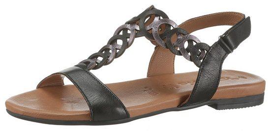 Tamaris »Kim« Sandale mit aufwendigen T-Riemchen