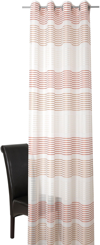 Vorhang »Relax«, DEKO TRENDS, Ösen (1 Stück), Ösenschal mit Kunststoffösen