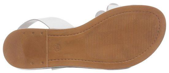 Tamaris Metallic Sandale Modischen Mit besätzen »isla« Yw4YqRO