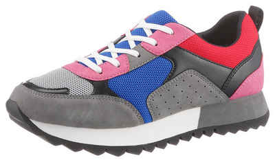 95e686e7471886 Oliver RED LABEL Sneaker im trendigen Multi-Colour-Design