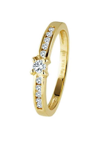 Золотое кольцо Diamond Line