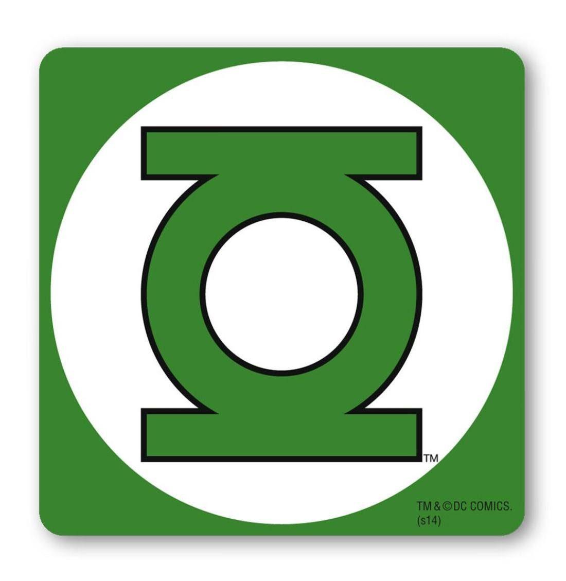 LOGOSHIRT Untersetzer mit Green Lantern-Logo