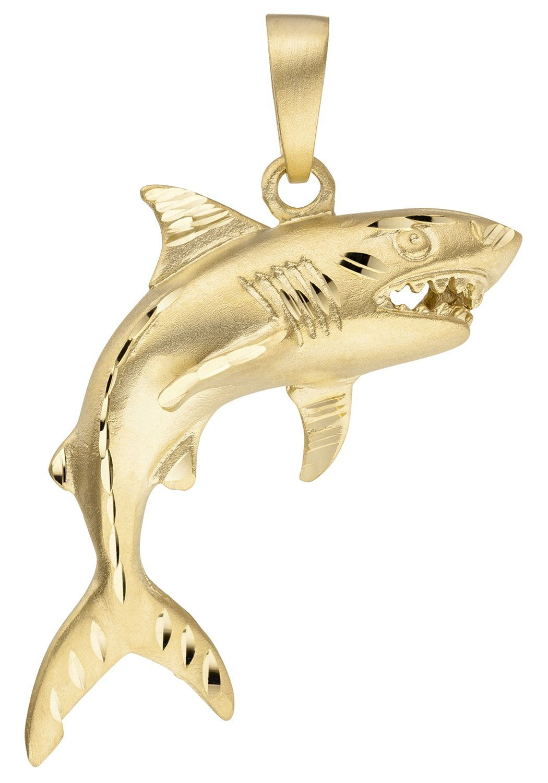 JOBO Kettenanhänger »Hai Haifisch« 333 Gold