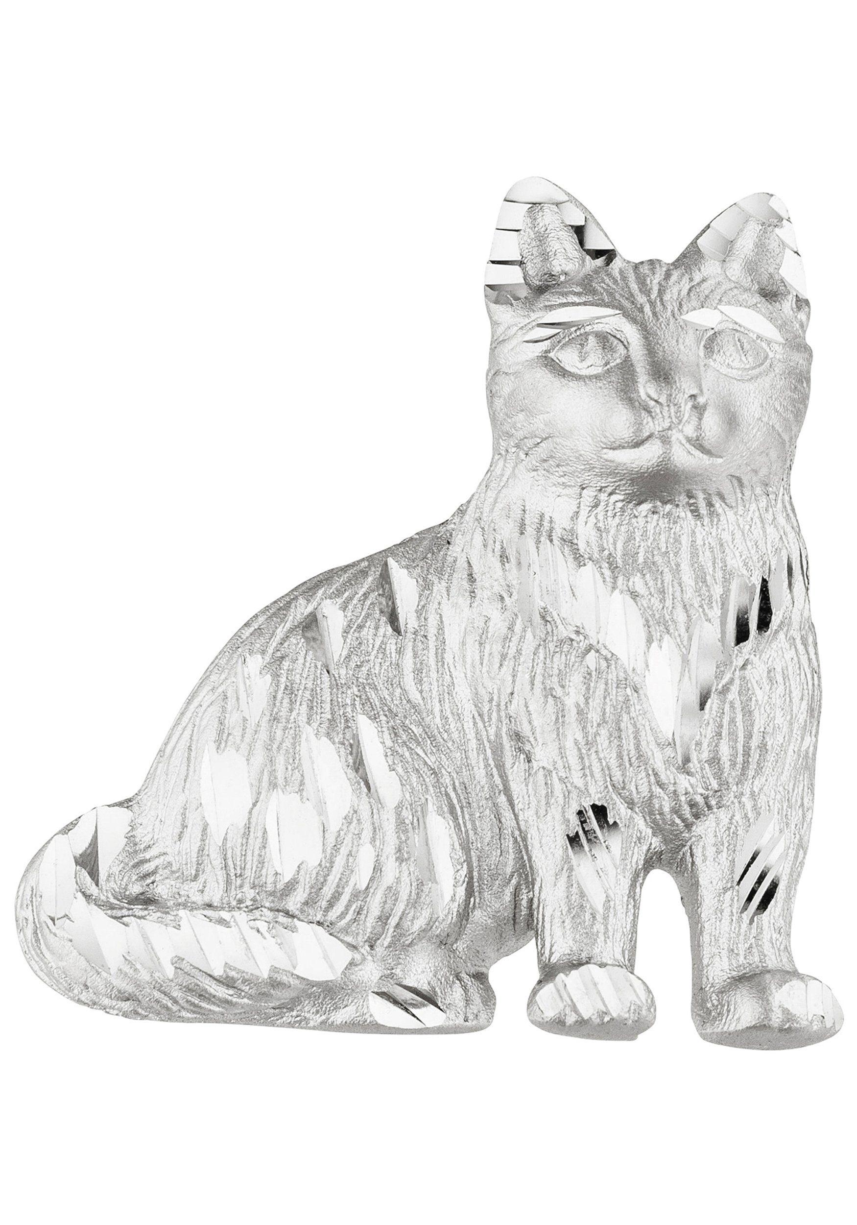 JOBO Kettenanhänger »Katze« 925 Silber