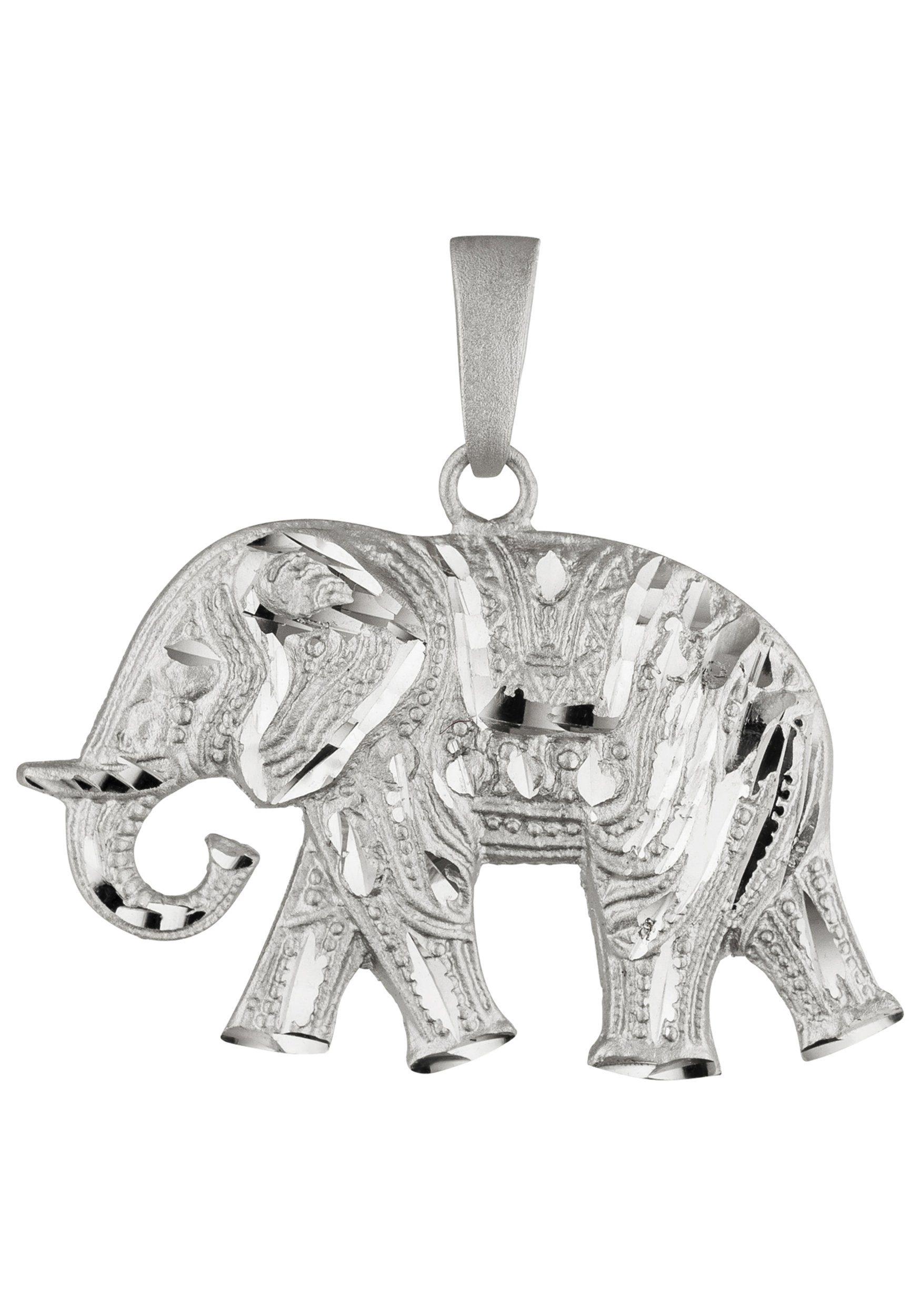 JOBO Kettenanhänger »Elefant« 925 Silber