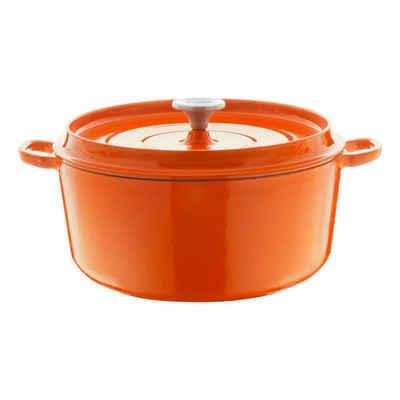 Berndes Bräter »Rund Orange Ø 20 cm«, Eisenguss