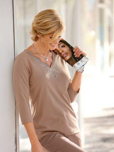 Paola Shirt mit außergewöhnlichem Ausschnitt