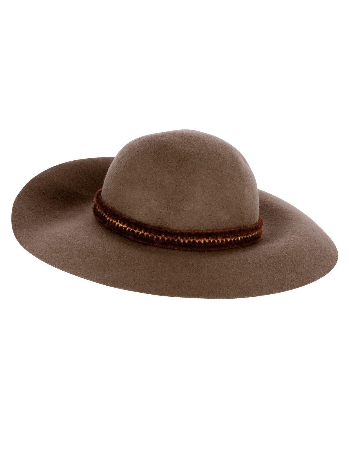 Mona Hut aus reiner Wolle