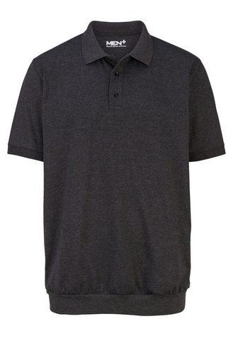 MEN PLUS BY HAPPY SIZE Spezialschnitt Polo marškinėliai