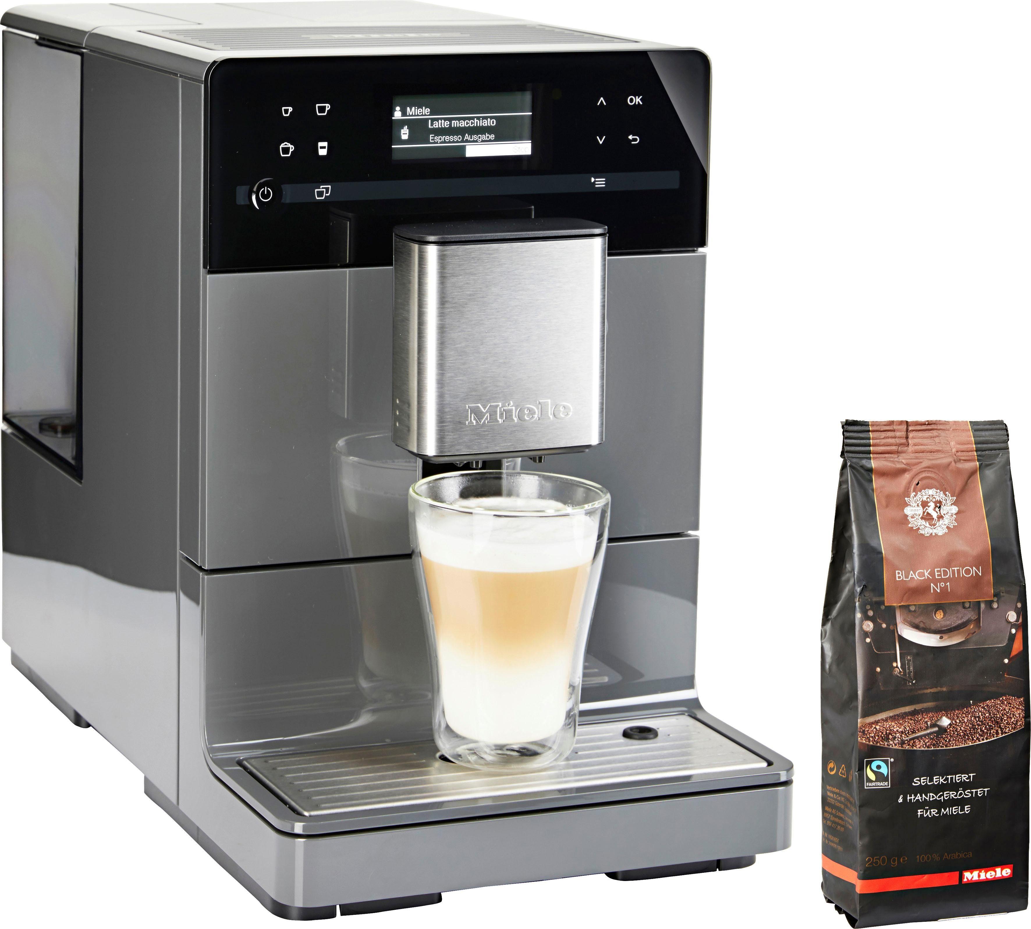 Miele Kaffeevollautomat CM5300 Graphitgrau, mit Vorbrühsystem
