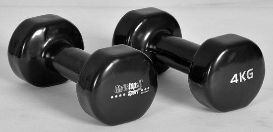 Christopeit Sport® Hantel, 8,0 kg, (2-tlg)