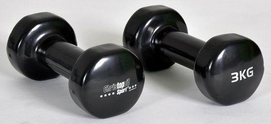 Christopeit Sport® Hantel, 6,0 kg, (2-tlg)