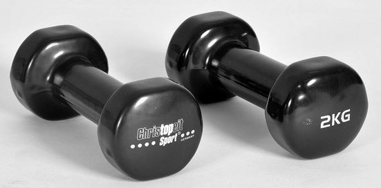 Christopeit Sport® Hantel, 4,0 kg, (2-tlg)