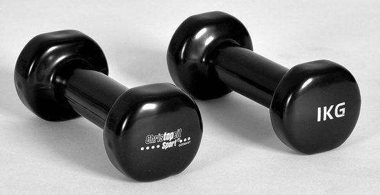 Christopeit Sport® Hantel, 2,0 kg, (2-tlg)