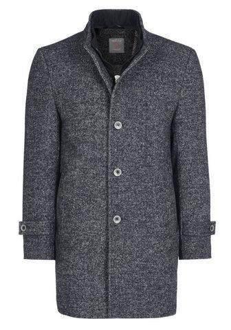 Пальто шерстяное с стильный воротник с...