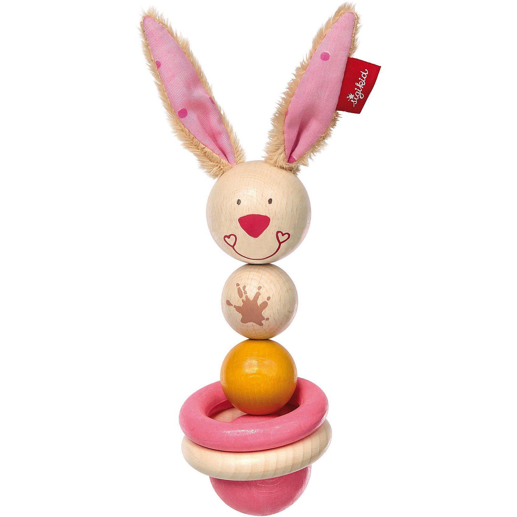 Sigikid Holz-Greifling Bungee Bunny (75069)