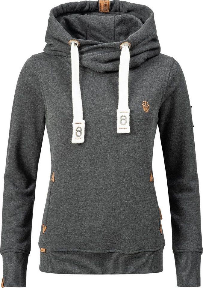 816415325b55 Navahoo Kapuzensweatshirt »Namikaa« weicher Hoodie mit dicken ...
