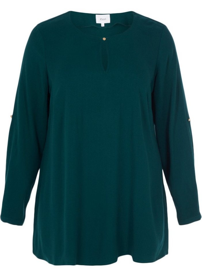 Zizzi Tunika | Bekleidung > Tuniken > Sonstige Tuniken | Grün | Zizzi