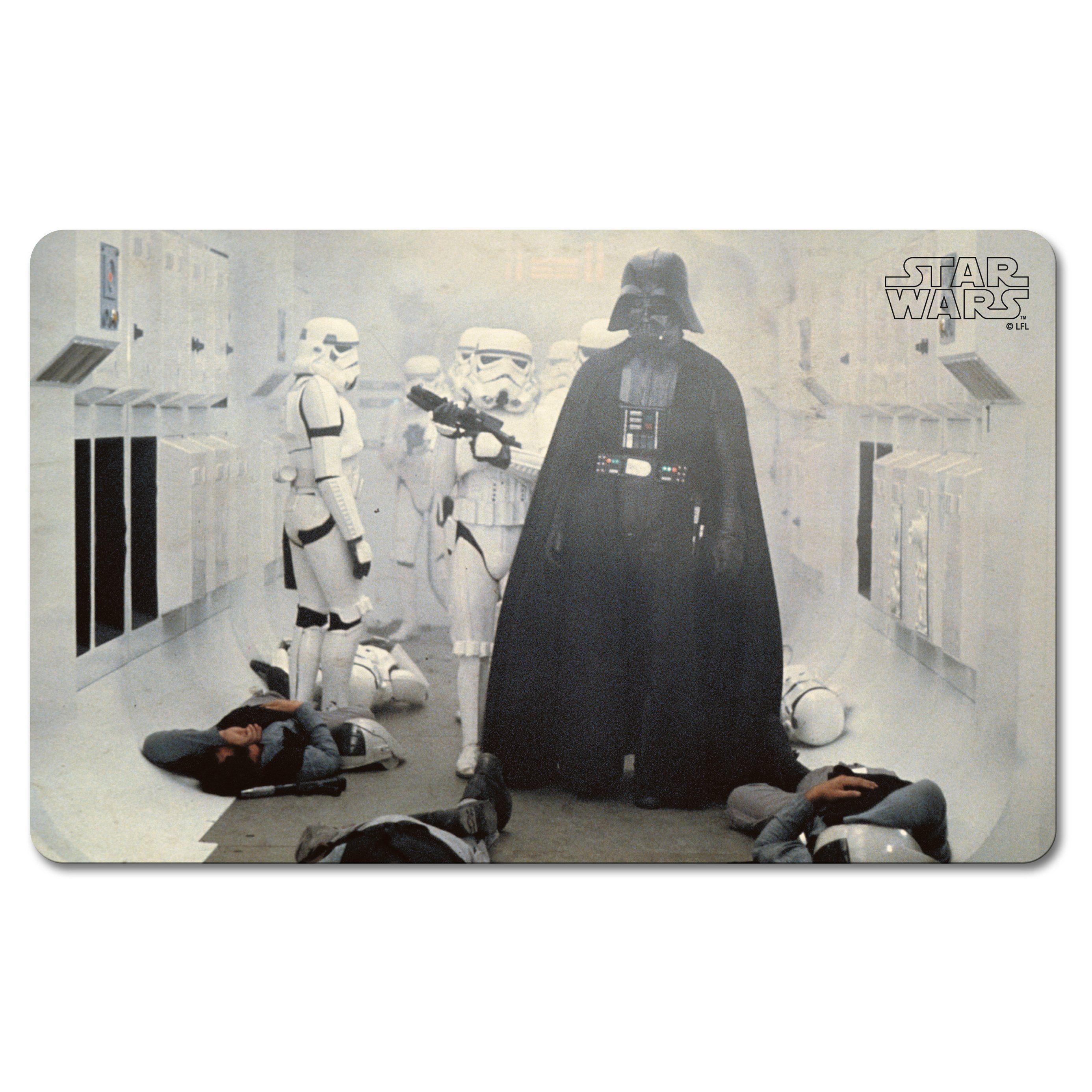 LOGOSHIRT Frühstücksbrettchen mit Darth Vader-Motiv