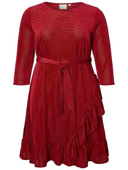 JUNAROSE 3/4-Ärmel Schößchen Kleid