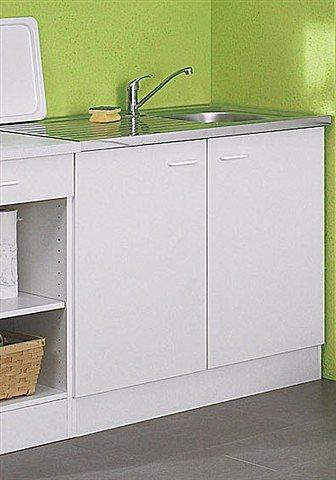Spülenunterschrank »Helsinki«, Breite 100 cm in weiß