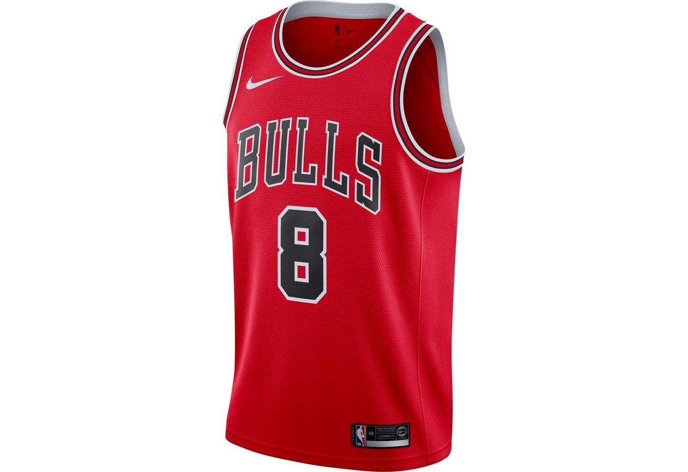 Nike Basketballtrikot »Zach Lavine Chicago Bulls«   Sportbekleidung > Trikots > Basketballtrikots   Rot   Trikot   Nike