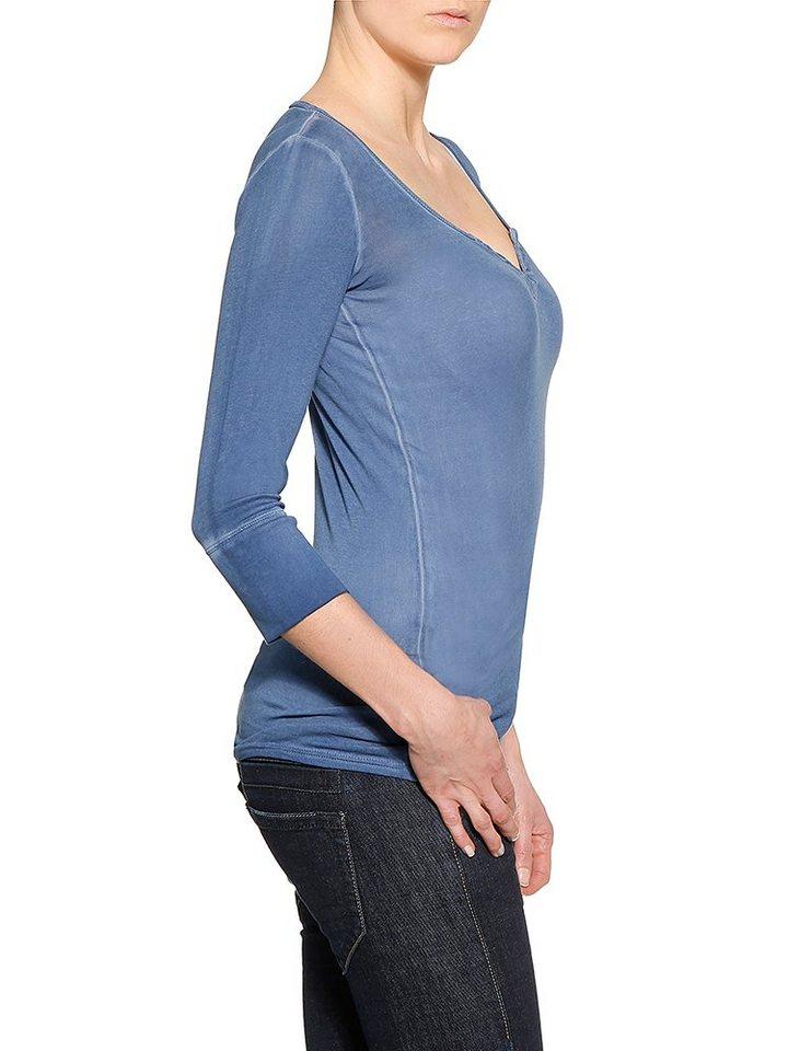 HERRLICHER Tunika in schlichtem Design | Bekleidung > Tuniken > Sonstige Tuniken | Blau | Baumwolle | Herrlicher