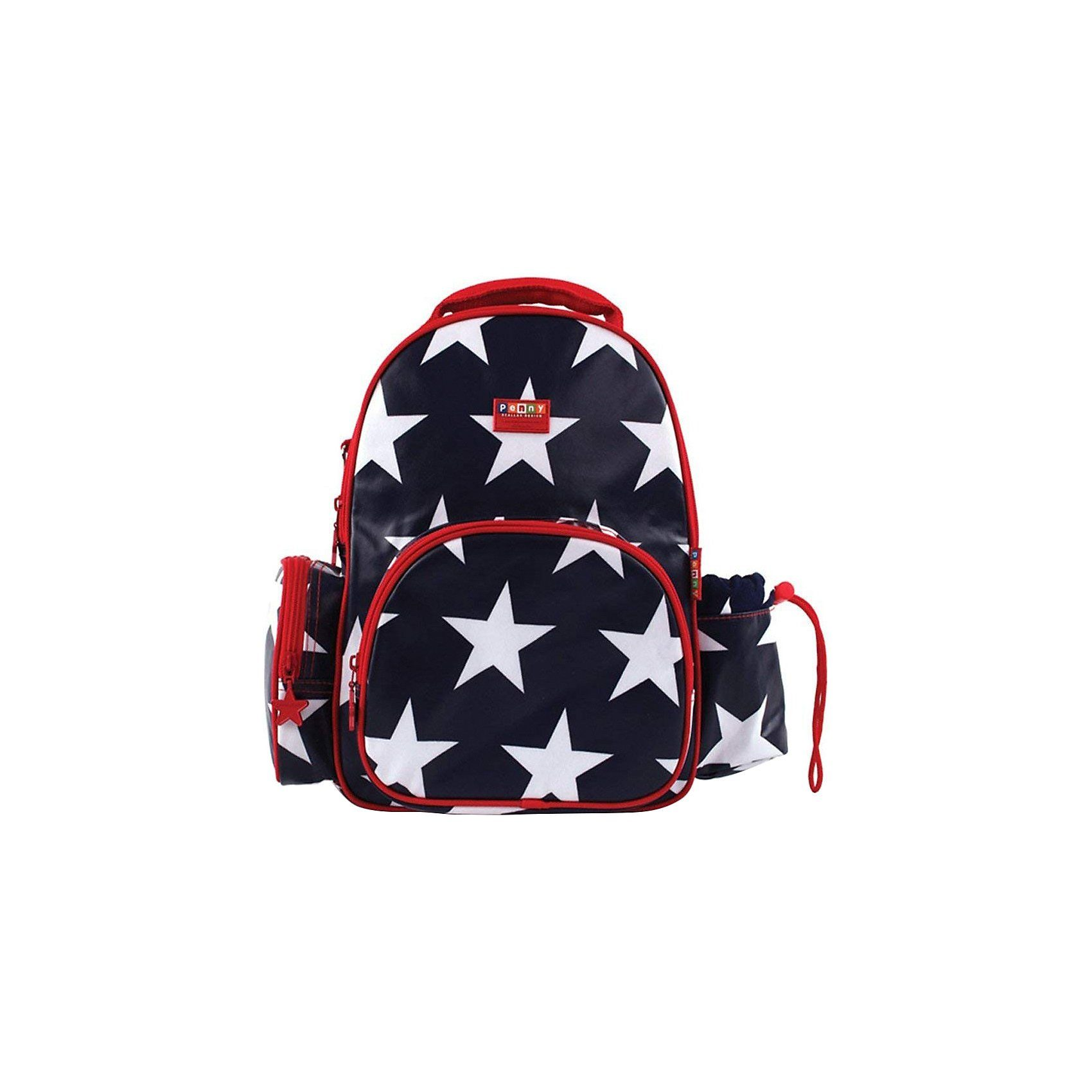 Penny Scallan Kinderrucksack Medium Navy Star