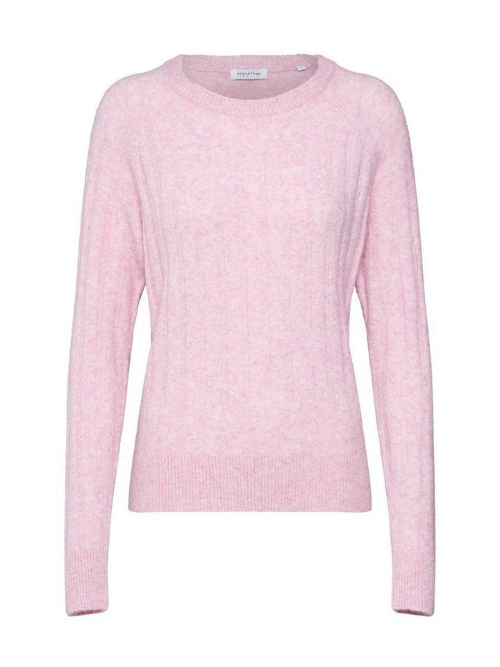 Damen GREYSTONE Rundhalspullover rosa | 04059203811568