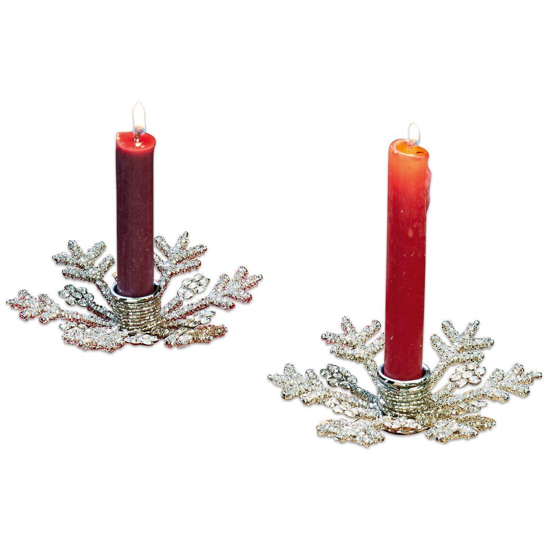 Loberon Kerzenständer 2er Set »Nissa«