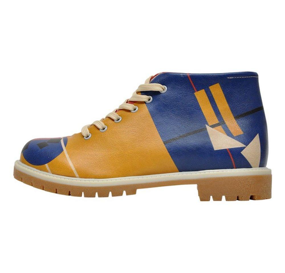 DOGO »Suprematism« Bootsschuh Vegan | Schuhe > Bootsschuhe | Gelb | DOGO