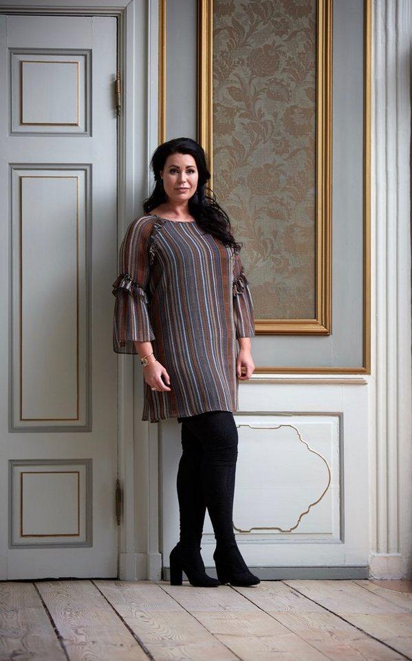 ZOEY Chiffontunika »THILDE DRESS«   Bekleidung > Tuniken > Chiffontuniken   Braun   Polyester   ZOEY