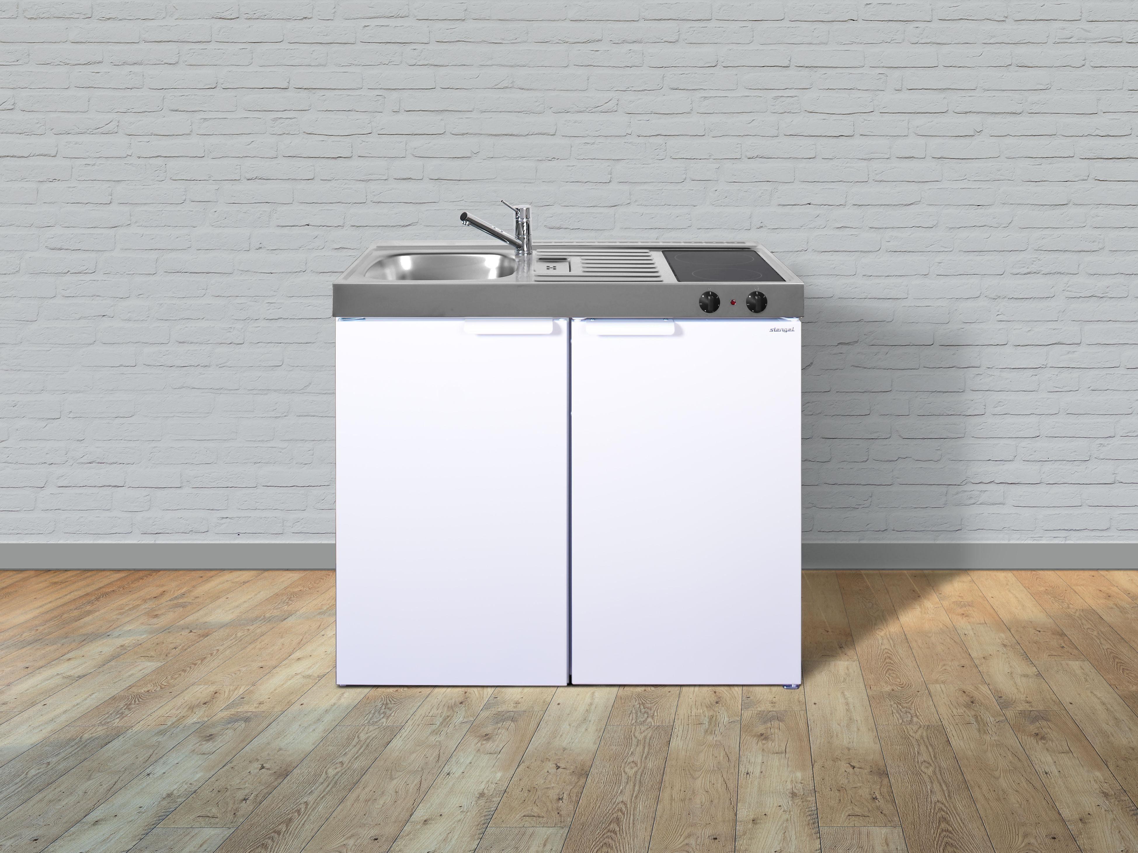 Miniküche Mit Kühlschrank Kaufen : Stengel metall miniküche kitchenline mk kühlschrank