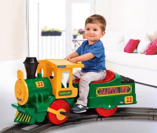 Peg Perego Elektro-Kinderzug »Santa Fe Train - 6V«, Belastbarkeit 15 kg