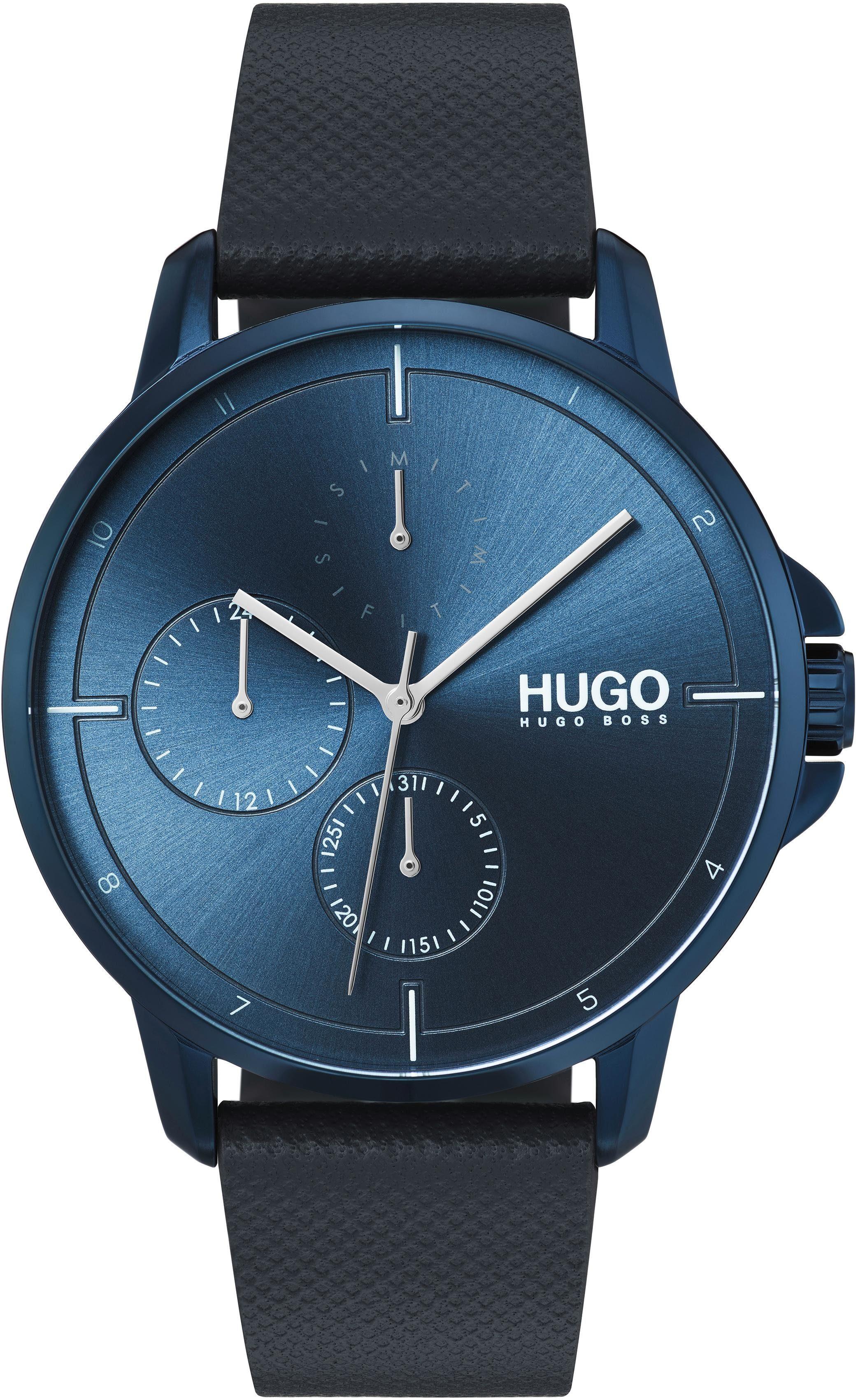 HUGO Multifunktionsuhr »Fokus, 1530033«